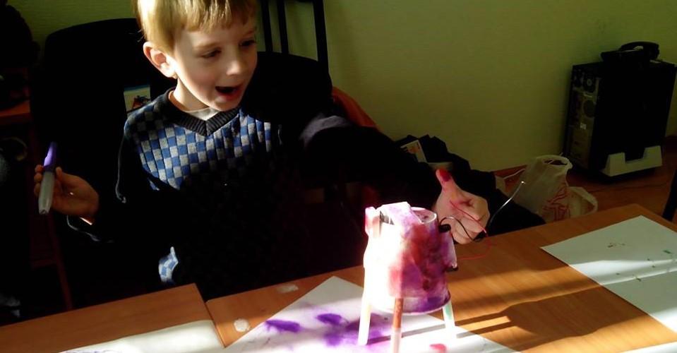 Дети должны получать радость от творчества